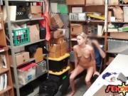 Teen gets fucked for shoplifting