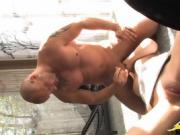 babe with blondfold loves cock