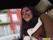 Horny Vanessa gets spotted and banged