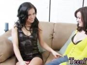 Teen female masturbation squirt and harmony vision lesbian