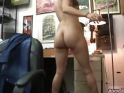 Midnight blowjob Fucked in her dearest pair of heels!