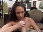 Nerdy brunette fucked by repairman Whips,Handcuffs and a face