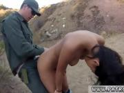Border patrol strip search and bondage grope cop Pretty latin