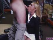Huge natural tits strapon Hot Milf Banged At The PawnSHop