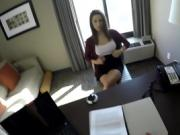Spy Pov - Fucking coed with big swingers