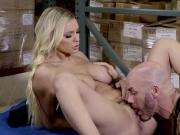 Kenzie having sex with her office mate