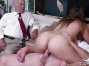 Old man stud and woman webcam Ivy impresses with her enormous