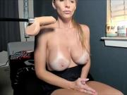 Hot Milf With Huge Tits Giving A Sensual Show
