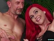 British femdom ladies film naked CFNM amateur
