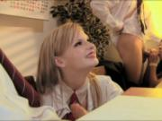 These horny schoolgirls make school look like fun