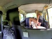 Michelle Thorne fucks her customer in the backseat
