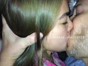 Sean and Lily Kissing Video 1