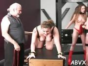 Amateurs extreme bondage