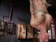 Big tits petite slave gets brutal fucking