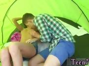 exposed in public Eveline getting boned on camping site