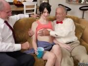 Bree olson old guy Frankie heads down the Hersey highway