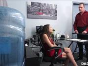 Cute Young Teen Step Daughter Fucked By Step Dad At His Work