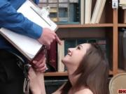 Shoplifting teen Lily Jordan learns her lesson