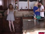Alura and Dolly got fucked in the kitchen