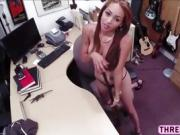 Latina big round ass gets hard fucked