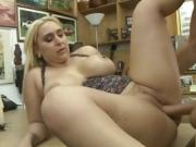Big Titty Blonde Nina Kayy Getting Banged On Pawn Shop Desk