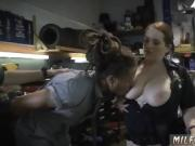 Blonde russian mature Chop Shop Owner Gets Shut Down