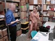 Emma Hix blowjob the LP Officers cock