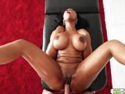 Moriah Mills ebony pussy fuck doggystyle by Tony Rubino