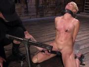 Blonde Milf gets nipples tortured