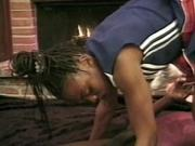 Young cheerleader is facialized after hot fuck by the fire