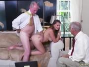 Old mexican anal Ivy impresses with her large knockers and as