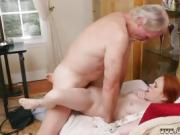 Old mother in law and grandpa cums inside Online Hook-up