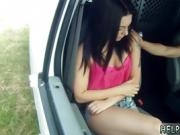 Teen anal ass to mouth She chats to the driver and begs for a