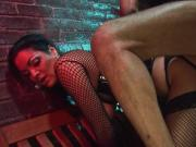Horny twins share a thick throbbing schlong