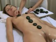 Exceptionally good pussy massage for stunning dyke
