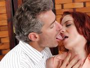 Sexy Redheads Are Suckers for French Cock