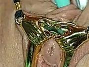 Orgasmus in Gold - Marina