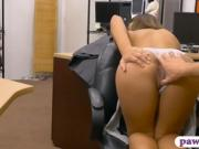 Hot ass woman screwed by nasty pawn guy at the pawnshop