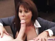 Plump ass mature and brunette nylon fuck xxx She had some ado