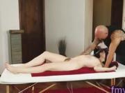 Jessica Ryan fucked by horny masseur