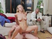 Blonde lingerie fuck Molly Earns Her Keep