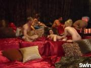 Swingers trying out sexy things in reality show