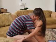 Horny Jeleana Marie getting horny for large dick