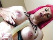 Virtual Big Tit Lesbian Sex and Dirty Talk