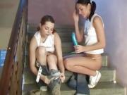 Lesbian saliva and teen oil dance xxx lesbians porking in