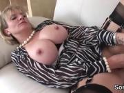 Unfaithful british milf gill ellis pops out her gigantic tits