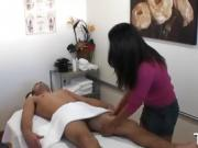 Gentle massage and hot sex get mixed together at last