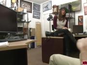 Felicity Feline fucks hard in the pawnshop