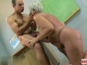 Hot mature sex and cumshot dq