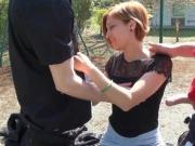 Gabriella, a cute redhead teen ass-fucked in public